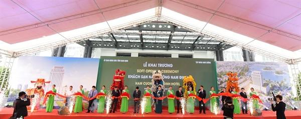 Tập đoàn Nam Cường khai trương khách sạn 4 sao tại TP Nam Định