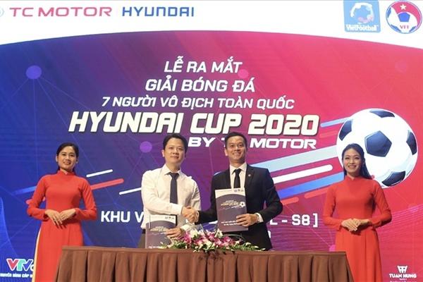 Hình ảnh: Giải bóng đá 7 người vô địch toàn quốc Hyundai Cup 2020 khởi tranh trở lại số 1