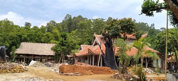 """Thanh Hóa: Thanh Hóa: HuyệnNga Sơn đề nghị""""khai tử"""" công trình sai phạm tại di tích chùa Bạch Tượng"""