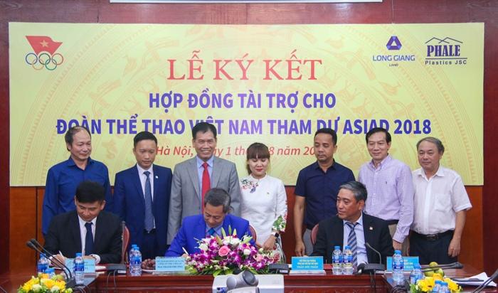 Hình ảnh: Công bố nhà tài trợ cho Đoàn Thể thao Việt Nam dự Asiad 2018 số 2