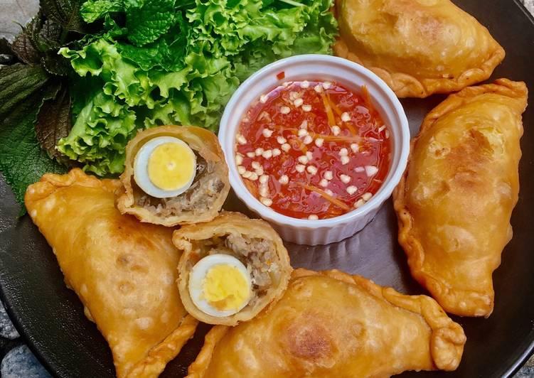 Banh goi - dumpling frit