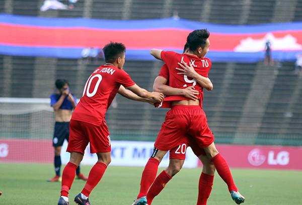 Thắng U22 Campuchia 1-0, U22 Việt Nam đoạt hạng ba Đông Nam Á