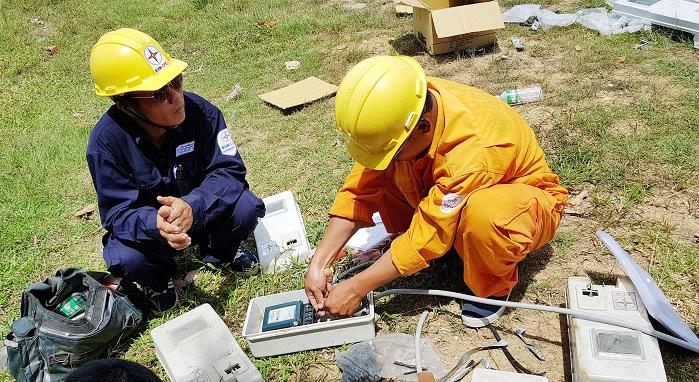 Chú trọng công tác lắp đặt hệ thống thu thập chỉ số công tơ điện tử từ xa (RF-Spider)